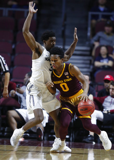 Tra Holder pours in 40 as Arizona State stuns No. 15 Xavier to win Las Vegas Invitational | Zagsblog